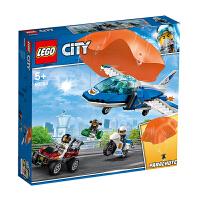 【当当自营】LEGO乐高积木城市组City系列60208 空中特警降落伞追捕