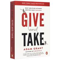 Give and Take 给予和索取 英文原版 沃顿商学院受欢迎的成功课 成功的革新方法 亚当格兰特 英文版进口英语书