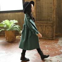 童装女童毛呢大衣儿童洋气呢子外套5岁韩版7公主秋冬装潮