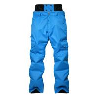 户外滑雪裤男款加厚单板双板通用冬季防风防水透气保暖冲锋裤棉裤