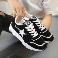 运动鞋女 百搭韩版厚底小白鞋休闲鞋女跑步鞋帆布鞋女