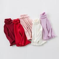 [3件3折价:78.9]戴维贝拉女童秋冬打底毛衣 宝宝套头针织衫DB2735