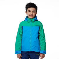 探路者童装 男童拼色三合一套绒冲锋衣