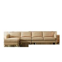港式转角后现代轻奢沙发 简约欧式真皮沙发组合客厅 整装小户型#85 其他