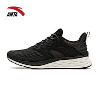 安踏女鞋跑步鞋2019秋冬季新款舒适透气运动鞋轻便休闲鞋12845588