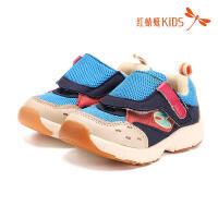 红蜻蜓童鞋韩版网面透气经典百搭儿童休闲鞋