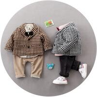 0男宝宝2加厚3秋冬装4婴幼儿童装7衣服8小孩9套装1岁半12个月5潮6
