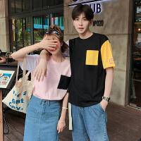 情侣装夏装男女短袖T恤女潮 夏季2018新款半袖韩版学生宽松上衣