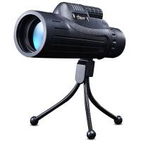 全国货到付款 JHOPT巨宏 10X42微光夜视望远镜 军工品质 便携 观鸟观星 便携10X42单筒可接手机拍摄
