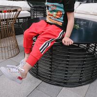 夏季女童哈伦裤儿童裤子2018韩版新款长裤中大童百搭运动裤夏装女