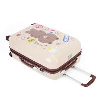 茉蒂菲莉 拉杆箱 万向轮拉杆箱可爱卡通旅行箱行李箱20寸登机箱