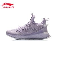 李宁跑步鞋女鞋官方夏季新款透气轻便减震跑鞋鞋子女士中帮运动鞋