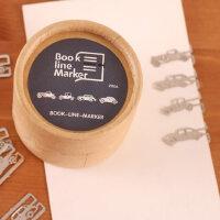 善书者BookMark 创意金属书签/汽车 SQ-JS040 20枚盒装迷你卡通造型金属书签唯美可爱文艺小清新男女孩童