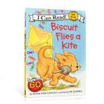 顺丰包邮 (99元5件)英文原版儿童绘本 I can read my first Biscuit Flies a Ki