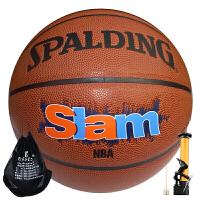 SPALDING/斯伯丁篮球74-412 室内外NBA比赛训练用球PU皮