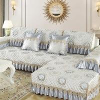 欧式沙发垫通用布艺防滑坐垫四季全包�f能套沙发套罩简约现代全盖