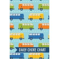 【预订】Daily Chore Chart: Car Vans Kids Weekly Checklist Task F
