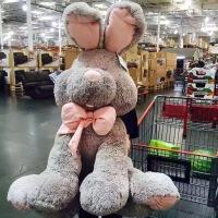 美国网红兔大熊兔子公仔布娃娃毛绒玩具超大号玩偶生日礼物送女生