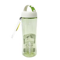 LOCK&LOCK乐扣 600ml绿色运动型塑料水杯 HLC802TG