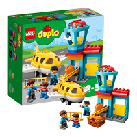 【当当自营】LEGO乐高积木得宝DUPLO系列10871 2-5岁我的飞行初体验