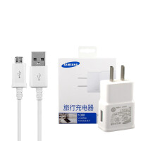 三星(SAMSUNG)A3 A5 A7 A8 J7 J5 E7原装充电器 5V 2A 10W充电头+数据线套装 充电线 直充 线充 旅行充