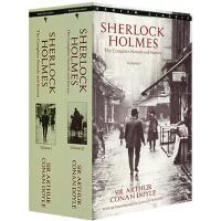 福尔摩斯 英文原版 小说探案2册全集 Sherlock Holmes 侦探悬疑推理 亚瑟.柯南 道尔爵士 (Sir Arthur Conan Doyle)