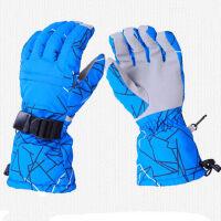 户外滑雪手套防风防寒透气保暖舒适摩托车电动车时尚骑行手套