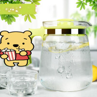 耐热玻璃水壶扎壶冷水壶大容量凉水壶大号果汁壶水壶r5k