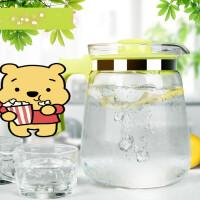 耐热玻璃水壶扎壶冷水壶大容量家用凉水壶大号果汁壶水壶2Lr5k