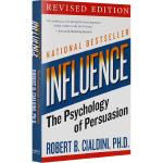 华研原版 影响力 英文原版 Influence 社会心理学 经典作品 The Psychology of Persua