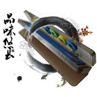 多功能三合一浮漂盒全套钓鱼配件套装 主线组子线鱼鱼漂组合钓 蓝45cm 送3支漂
