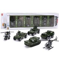 仿真合金车模型各类宝宝玩具小汽车男孩儿童消防套装组合军事坦克飞机 军事战队 嘉业合金车模