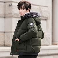 棉衣男士外套冬季新款短款加厚修身棉服韩版潮流冬装棉袄