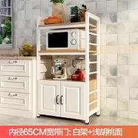 微波炉置物架厨房收纳架多功能家用落地式多层烤箱柜架厨房用品柜