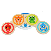 Hape智能触控电子鼓0-6岁婴幼玩具音乐玩具儿童宝宝早教益智启蒙玩具800803