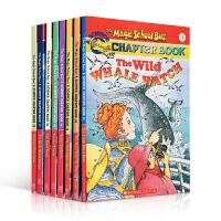 英文原版 The Magic School Bus Chapter Book 神奇校车6本 章节书 送音频6-8岁