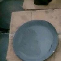 老式平底锅加厚无涂层不粘商用大煎锅铸铁双耳生铁锅烙饼锅小煎锅