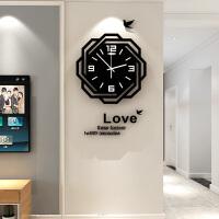 创意简约静音时钟装饰石英钟欧式挂钟客厅家用时尚钟表个性