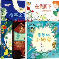 法国孩子都爱看的绘本套装5册 悠悠的小阳伞+吃兔子的火柴盒(宝宝自我保护安全意识培养)+在我之前(一本了解生命的进化过