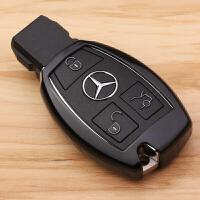 奔汽车钥匙包C级E级GLA200钥匙扣GLC260C200L钥匙套壳男女