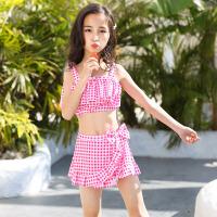 儿童泳衣女童分体中大童公主裙式小女孩宝宝游泳衣