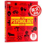 [英文原版]The Psychology Book by Nigel Benson心理学百科英文原版 英国DK出版社精