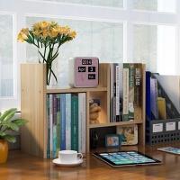 桌上书架置物架桌面儿童书柜简易简约现代学生收纳架办公桌面格架