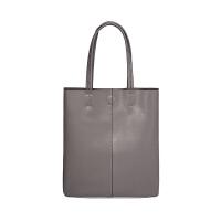 托特包女极简真皮单肩女包新款软皮包包百搭大容量牛皮托特