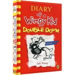 小屁孩日记11英文原版小说入门级 Diary of a Wimpy Kid 11 Double Down 桥梁章节书