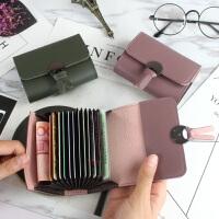 2018新款韩版女式风琴卡夹卡包*套短款时尚卡片包小零钱包潮