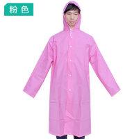 旅行徒步旅游成人透明雨披男女骑行风衣登山步行户外EVA加厚雨衣