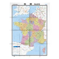 世界热点国家地图・法国(1:1350000)