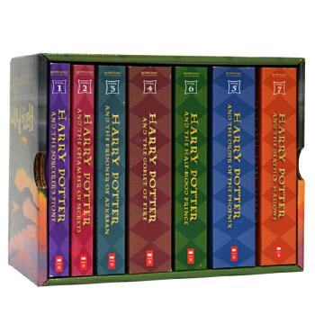 哈利波特英文原版 1-7全集(美国平装版)The Complete Harry Potter Collection (Books 1-7) ISBN9780545162074