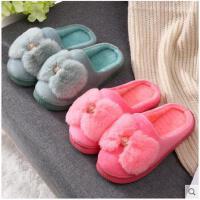 秋冬棉拖鞋女室内冬季可爱厚底居家居加厚保暖防滑情侣毛拖鞋冬天